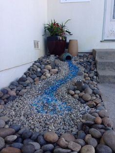 75 gorgeous dry river creek bed design ideas on budget (61)