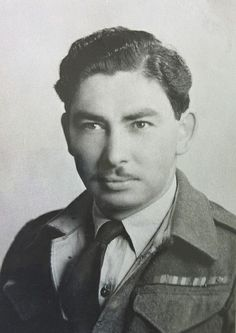 EDWARD BALLENDINE. The fifth of eight Ballendine brothers from Battleford, Saskatchewan who joined the Canadian Army in World War Two. Company Sergeant Major Edward C. Ballendine (L 27152) enlisted in June 1940 with the Regina Rifles. He went overseas as a sergeant and was promoted to company sergeant major in England. In June 1943 he volunteered to go to Italy, and was transferred to the Princess Patricia's Canadian Light Infantry.