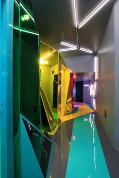 Wax Revolution Polanco salon by ROW Studio, Mexico City i'd like to visit it