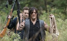 The Walking Dead' Spoilers: Do Daryl Dixon And Aaron See Morgan?