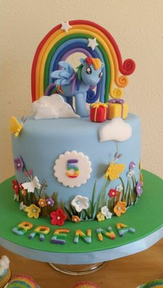 Ideas Cupcakes Rainbow Dash Awesome Related posts: Rainbow Dash Geburtstagstorte 5 Rainbow Dash Games Cupcakes Foto Rainbow Dash Cupcakes Rainbows Cupcakes Rainbow Dash Ideen Ideen Cupcakes riechen Zucker – Super Cupcakes Rainbow Icing Ideen My Little Pony Party, Rainbow Dash Cake, 5th Birthday Cake, Birthday Kids, Little Poney, Girl Cakes, Cute Cakes, Themed Cakes, Cupcake Cakes