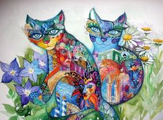 Discover great works of Oxana Zaika Oxana Zaika Galerie d'Art en ligne