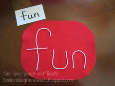 Live, Love, Laugh and Teach!: Spelling/Sight Word Practice Part 3