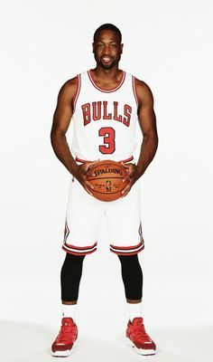 "fyeahbballplayers: """"Dwyane Wade   Chicago Bulls. n.3 "" """