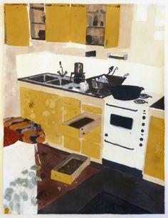 fyeahwomenartists:Mamma AnderssonSink, 2008Mixed media on paper
