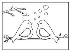 FREE PRINTABLE Valentines Day Coloring Sheets from Vale Designs