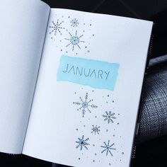 Bujo Bullet Journal January 2018 Inspiration