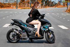 Yamaha NVX 155 độ monoshock độc đáo hàng đầu tại Việt Nam   Xe độ   Xe & Đời sống Yamaha Scooter, Bike, Aerox 155 Yamaha, Motor Scooters, Asian Woman, Cars, Motorcycles, Motivation, Design
