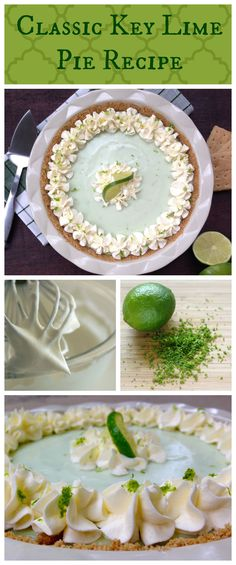This rich and luxurious Key Lime Pie has the perfect combination of tangy and sweet.