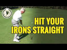 HOW TO HIT A GOLF BALL STRAIGHT WITH AN IRON - 3 MAIN FACTORS! - YouTube