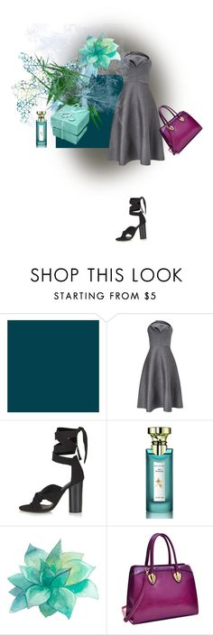 """Lunch?"" by ester77zoe ❤ liked on Polyvore featuring Chalayan, Topshop, Bulgari and Dasein"
