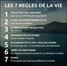 Les 7 règles de la vie - Inspirations pour réussir sa vie