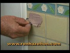 How To Repair Cracked Tiles Pinterest Ceramic Floor Tiles Tile - How to fix bathroom tiles