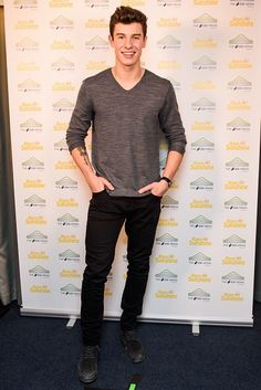 Shawn Mendes  at the Rays Of Sunshine concert in London - 24 Oct 2016