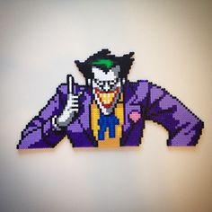 The Joker / hama beads by Lauro Espinosa Val