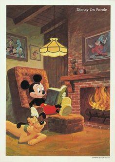 Pin by Ohitekah On Mickey & Minnie Mouse Disney Pixar, Mundo Walt Disney, Retro Disney, Arte Disney, Vintage Disney, Disney Animation, Disney Cartoons, Disney Films, Disney Magic