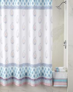 #ad Dena Home Boho Shower Curtain