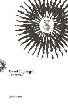 "The Special by David Stavanger: Reviewed by Maxine Beneba Clarke. ""David shares five definitions of 'special'. These include 'sweetheart', 'other than the usual', and 'to observe a suicidal or psychotic mental health in-patient overnight with limited support or sleep'. It's our assumption that this definition is true to Stavanger that makes our poetic journey all the more remarkable."" http://www.readings.com.au/review/the-special-by-david-stavanger"