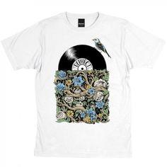 Sleeve T-shirt / White / by Iain Macarthur   Dephect