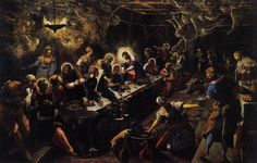 """Tintoretto's """"The Last Supper""""  You can see it in San Giorgo Maggiore, in Venice. I studied it in college and it was just fantastic to see in person."""