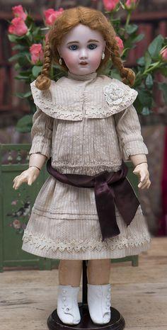 53 см Кукла SFBJ Paris 8, по отливке Jumeau - на сайте антикварных кукол.