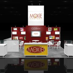 A Fantastic Peninsula Trade Show Exhibit Rental A value-priced exhibit with a high-design look, clean lines and open floor plan! This booth can do it all, product display, technical demo's,… Show Booth, Windows Server, Higher Design, Stand Design, Great Shots, Trade Show, Exhibit, Custom Design, Floor Plans
