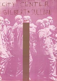 Jim Dine-Gilbert And Sullivan-1968 Poster