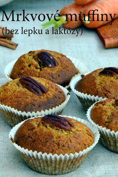 TynaTyna: Mrkvové muffiny (bez lepku a laktózy)