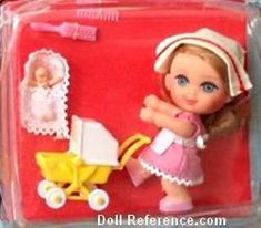 Mattel 3507 Little Kiddle Florence Niddle doll 1966-1967