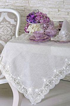 Gorgeous Lace Tablecloth