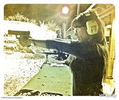 "Leeann Tweeden's photo ""Last night at the range. :) #..."""