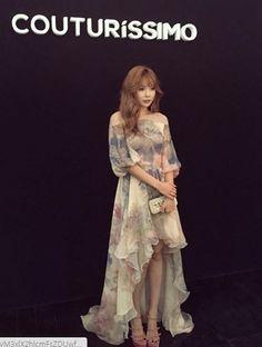 HyunA Shows Off Her Good Look sat Paris Fashion Show | Koogle TV