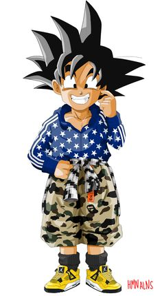 Goten casual - Visit now for 3D Dragon Ball Z shirts now on sale!