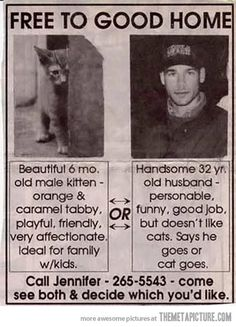 Best classified ad ever…
