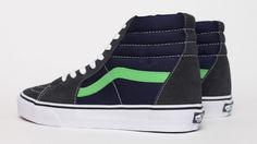 Vans SK8 Hi - Blue / Green