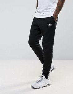38d6fd73b41b7b Nike - Club - Pantalon de jogging avec chevilles resserrées - Noir  804408-010