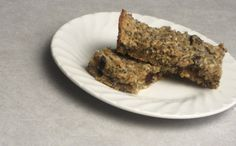 a simple {real food} recipe :: soaked oat granola bars
