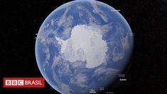 Modelo de engenheiros da Nasa mostra que, quanto mais longe de uma massa de gelo, mais as cidades portuárias devem se preocupar; entre 293 analisadas estão Belém, Recife e Rio. Fonte: Nasa prevê im…