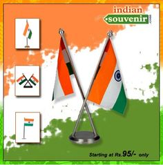 """@IndianSouvenir presents """"never seen before"""" range of Fashion accessories inspired by the Tri Colors of our National Flag."""