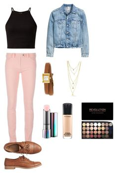 """""""Untitled #7"""" by meggrace04 on Polyvore featuring Balenciaga, Gap, Gucci and MAC Cosmetics"""