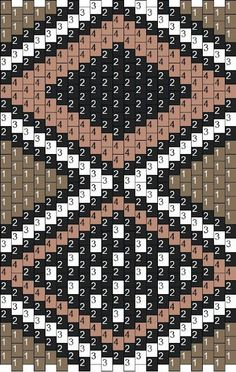 beaded peyote cloth   Free Mud cloth pattern from Carol Dean of Sand Fibers.