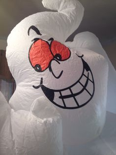 gemmy 8ft halloween 3 ghosts boo airblown inflatable lawn decoration ebay