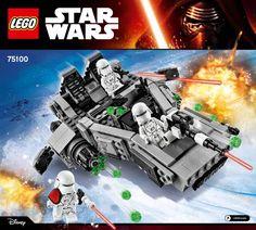 Star Wars - The Force Awakens - First Order Snowspeeder [Lego 75100]