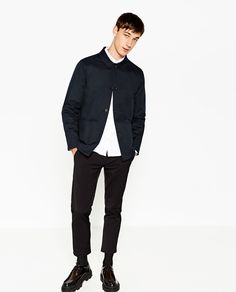 Image 1 of WORKER JACKET from Zara