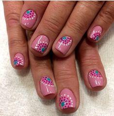 flower nail designs 60 Polka Dot Nail Designs for the season that are classic yet chic - Hike n Dip Dot Nail Designs, Flower Nail Designs, Nails Design, Summer Nail Designs, Dot Nail Art, Polka Dot Nails, Cheetah Nails, Polka Dots, Nagel Gel