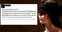 This Is Why It's A Bad Idea To Blindfold Your Girlfriend