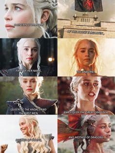 #daenerystargaryen Got Game Of Thrones, Game Of Thrones Quotes, Daenerys Targaryen, Khaleesi, Scandal Abc, Scandal Quotes, Glee Quotes, Game Of Thones, Got Memes