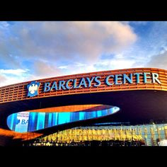 Barclays Center. Okay, I haven't been inside yet, but the outside is magnificent by itself.