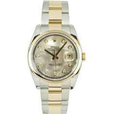 Rolex Mens New Style Heavy Band Stainless Steel & 18K Gold Datejust Model 116203 Oyster Band Smooth Bezel Mother Of Pearl Diamond Dial: http://watches.cybermarket24.com/rolex-mens-new-style-heavy-band-stainless-steel-18k-gold-datejust-model-116203-oyster-band-smooth-bezel-mother-of-pearl-diamond-dial/