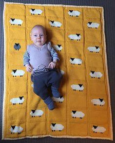 Ravelry: Luvmyknitting's Yellow Sheep Blanket